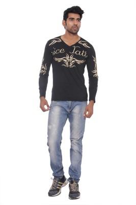 Osho Fashion Concepts Printed Men's V-neck T-Shirt