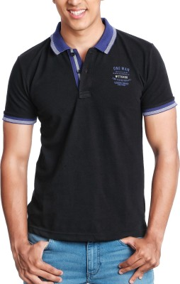 Jaihind Solid Men's Polo T-Shirt