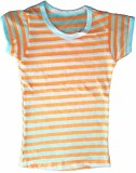Cool Baby Girls Striped (Orange)