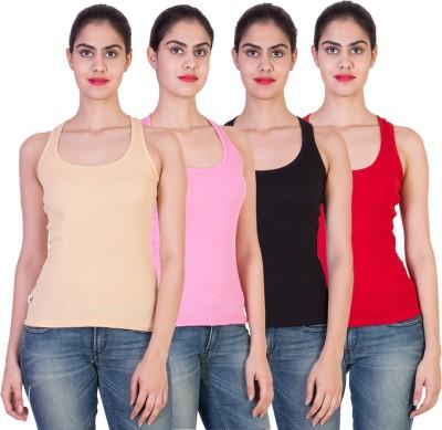 2DAY Solid Women's Round Neck T-Shirt