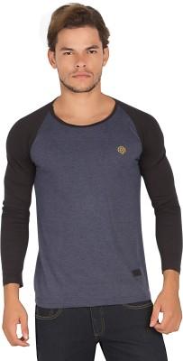 Alan Jones Solid Men's Round Neck T-Shirt