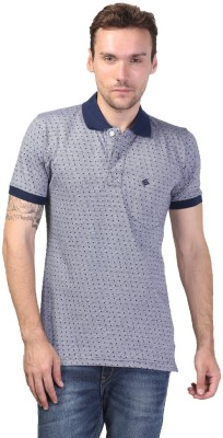 Seaboard Printed Men,s Polo Neck T-Shirt