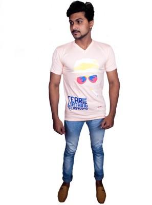 Fashion Passion Printed Men's V-neck T-Shirt