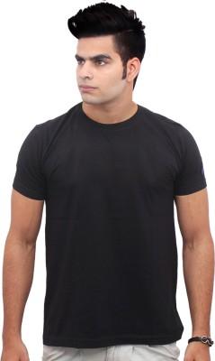 Jazzmyride Graphic Print Men's Round Neck Black T-Shirt