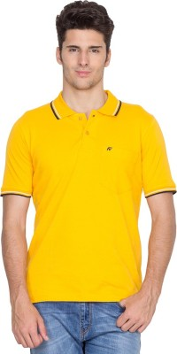 Fort Collins Solid Men's Polo Neck T-Shirt