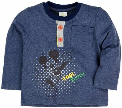 Walt Disney Printed Baby Boy,s Round Neck Grey T-Shirt