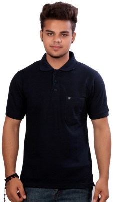 Emerge Solid Men's Polo T-Shirt