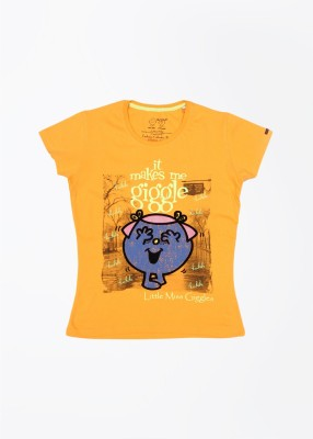 Mr. Men Little Miss Women's Yellow T-Shirt