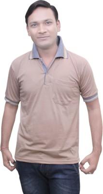 Mtc Solid Men,s Polo Neck T-Shirt