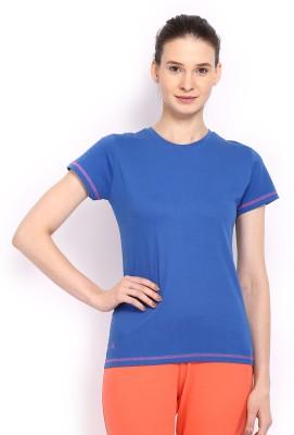 HRX Solid Women's Round Neck T-Shirt