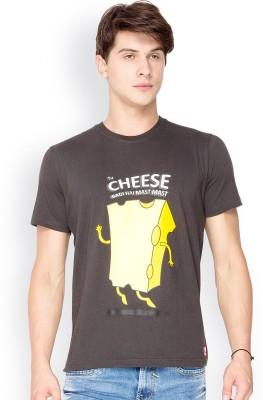 Chulbul Graphic Print Men's Round Neck Black T-Shirt