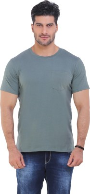 IWearMe Solid Men's Round Neck T-Shirt