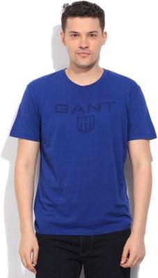 Gant Printed Men's Blue T-Shirt