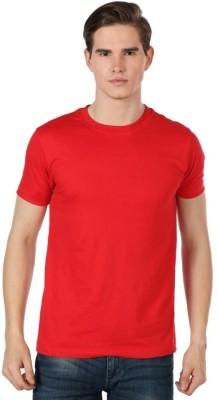 Bornify Printed Men's Round Neck Maroon T-Shirt