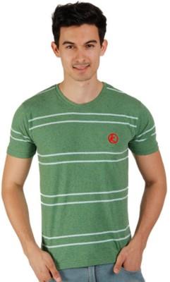 Kapapai Striped Men's Round Neck T-Shirt