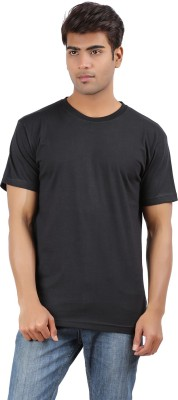 Arowana Solid Men's Round Neck T-Shirt