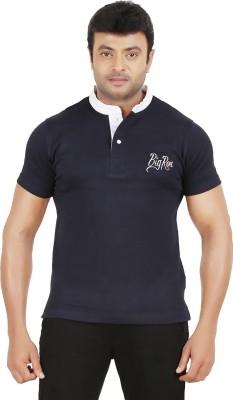 Ronnie Coleman Clothing Printed Men's Henley Dark Blue T-Shirt