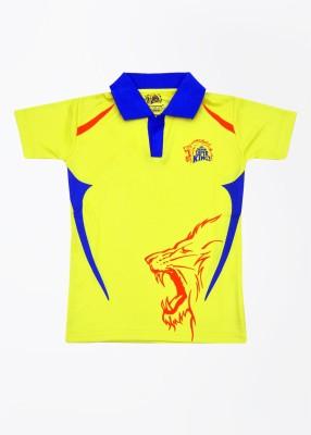 CSK Printed Men's T-Shirt