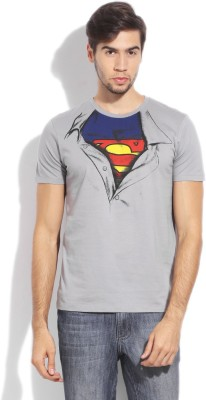Superman Printed Men's Round Neck T-Shirt