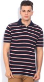 Gant Striped Men's Polo Neck Blue, Red T...