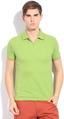John Players Solid Men's Polo T-Shirt