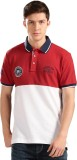 Harvard Solid Men's Polo Neck Red, White...
