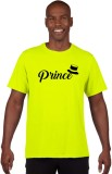 Giftsmate Printed Men's Round Neck Green...