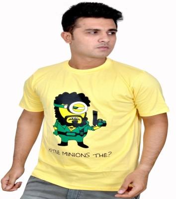 Eric Printed, Graphic Print Men's Round Neck T-Shirt