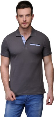 Buckland Solid Men's Polo Grey T-Shirt
