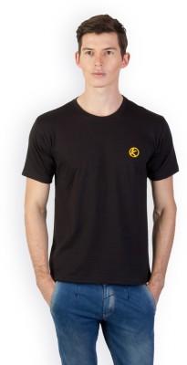 Kapapai Solid Men's Round Neck T-Shirt