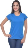 Frenchtrendz Solid Women's Round Neck Bl...