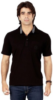 Valeta Solid Men's Polo Neck T-Shirt