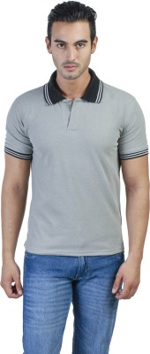Green Wich United Polo Club Solid Men's Polo Neck Grey T-Shirt