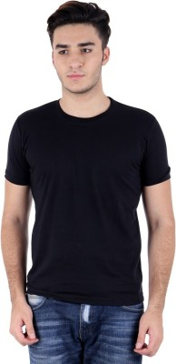 Gupta polyplast Solid Men's Round Neck T-Shirt