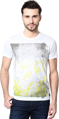 Van Heusen Printed Men's Round Neck T-Shirt