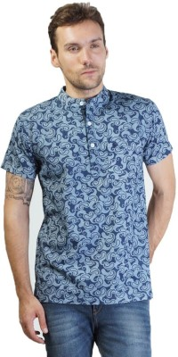 Seaboard Printed Men,s Fashion Neck T-Shirt