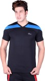 Origin Sport Solid Men's V-neck Black T-...