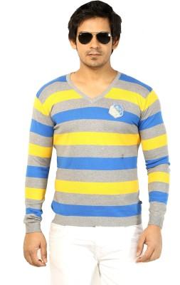 Core Striped Men's V-neck T-Shirt