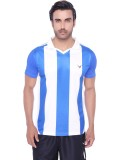 Valentine Striped Men's Round Neck Blue ...