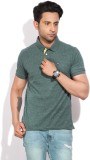 Arrow Sports Solid Men's Polo Neck Green...