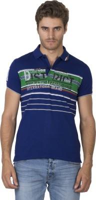 Duke Stardust Printed Men's Polo Neck T-Shirt