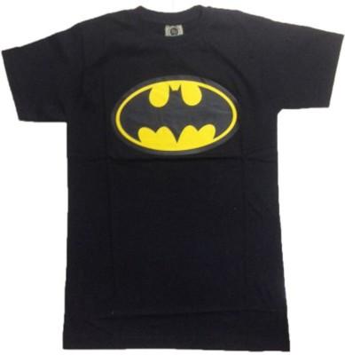 Bornify Printed Men's Round Neck Black, Yellow T-Shirt