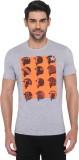 JadeBlue Graphic Print Men's Round Neck ...