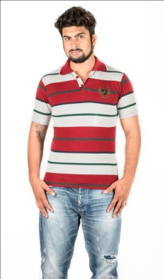 Navya Creations Printed Men's Polo Neck T-Shirt