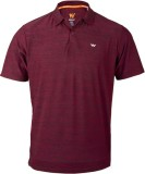 Wildcraft Woven Men's Polo Neck Maroon T...
