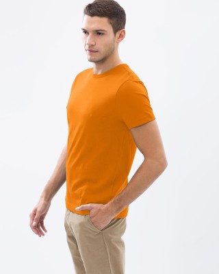 Vogue Solid Men's Round Neck T-Shirt