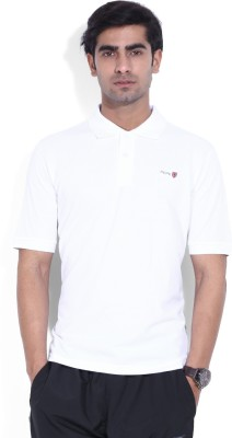 Pepe Solid Men's Polo White T-Shirt