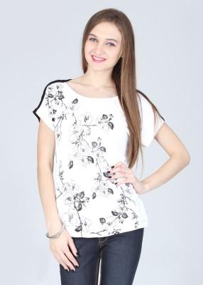 Elle Printed Women's Round Neck T-Shirt