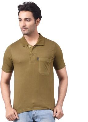 NG Tees Solid Men's Polo Neck T-Shirt