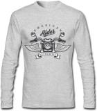 GHPC Printed Men's Round Neck Grey T-Shi...